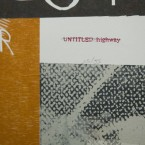 Untitled Highway, detail